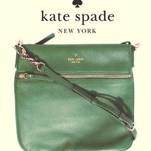 Kate Spade Green Cobble Hill  Little Curtis Bag XC